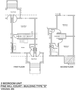 THWEB PMC-type-D-2-Bedroom-plans