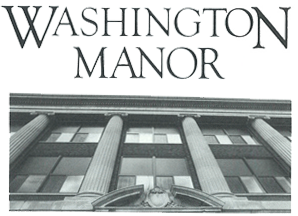 washington manor logo